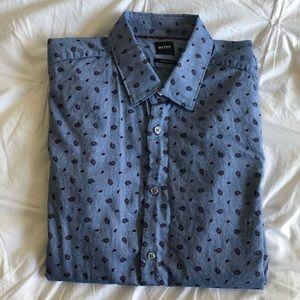 Hugo BOSS Men's Large Button Down / Dress Shirt